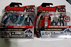 Marvel Avengers Age of Ultron-Marvel's Nick Fury vs Sub-Ultron 007,Captain Ameri