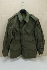 NORWEGEN TYP US ARMY WW2 Field Jacket M-1943 Feldjacke M43 Gr. 48/50 Medium #6