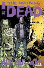 The Walking Dead #119 Image Comic Book First Printing All Out War Part 5