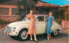 c1960 DKW 3=6 Automobile Dealer Promo Advertising Postcard (b)