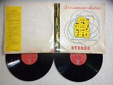 """2 LP GEORGES DELERUE """"Ici a commencé l'histoire"""" Ministère De La Culture µ"""