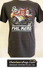 "PHIL READ MV ""8 Times Motorcycle World Champion"" T-SHIRT -  M Medium"