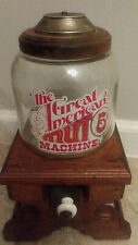 Vintage The Great American Nut Machine, 5 Cents, Tabletop Vending Machine