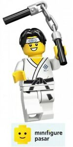 Lego 71027 Collectible Minifigure Series 20: No 10 - Martial Arts Boy - New
