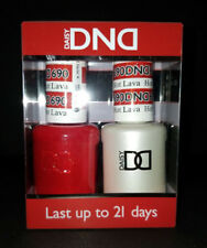 DND Daisy Soak Off Gel Polish Hot Lava 690 LED/UV 15ml gel duo NEW