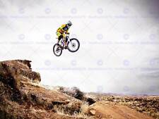 SPORT MOUNTAIN BIKE JUMP SKY BIG AIR LARGE POSTER ART PRINT BB3266A