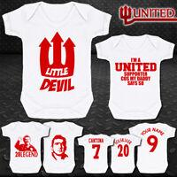 Manchester United - Man Utd - Baby Vest Suit Grow - Cantona - Solskjaer