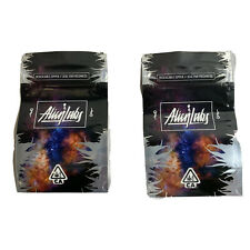 10X ALIEN LABS Cali Baggie 3.5g Mylar Pack Smell Proof Heat Sealable 2020