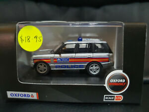Oxford Diecast 76RR3004 Range Rover 3rd Generation Metropolitan Police 1/76scale