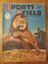 SPORTS AFIELD August 1939 vintage magazine hunting fishing outdoor ads