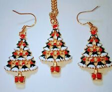 Christmas Tree Jewelry Set With Free Shipping