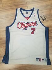 Vtg Champion Los Angeles Clippers Lamar Odom Authentic Jersey Mens Size 56