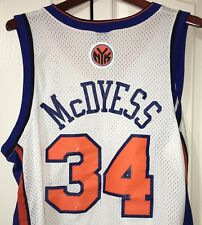 Team Nike NY Knicks McDyess Jersey XL Length +2 White # 34 Sewn