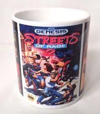 Streets Of Rage 1 2 3 - Coffee MUG CUP - Box Art - Sega - Mega Drive - Genesis