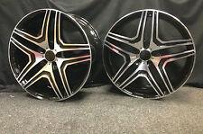 "22""black pol alloy wheels for new audi q7 5x112 mercedes ml gl bentley"