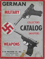 Vtg German Military Weapons Collectors Catalog E & M Firearms Co. First Edition