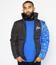Winter Jacket Blue Flag Men Women - Filthy Wealthy Clothing