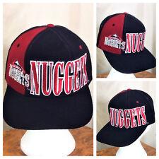 Vintage 90's Starter Denver Nuggets NBA Basketball Retro Graphic Snap Back Hat