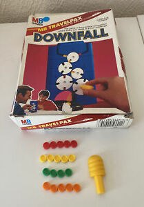 Travel Downfall - MB Games - 1990 - Choose your spare tokens