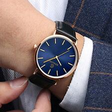 Mens  Ultra-thin Waterproof Fully Automatic Mechanical Steel Belt Watch Black