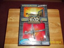 STAR WARS ACTION FLEET B-WING FIGHTER ALPHA SERIES/CONCEPT NEW