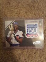 2019 Topps Update 150th Anniversary Patch ANDRE DAWSON
