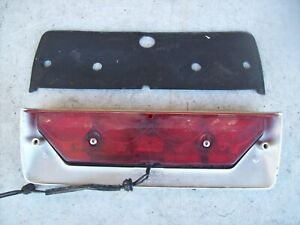 Porsche 968 944 S2 Cabriolet Convertible Trunk Third Brake Light - SILVER