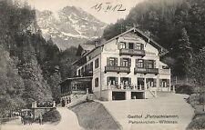 753/ Foto AK, Partenkirchen-Wildenau, Gasthof Partnachklamm, 1912