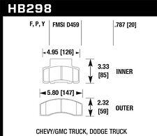 SuperDuty fits 1990-2002 GMC C3500,K3500 Savana 3500 V3500  HAWK PERFORMANCE
