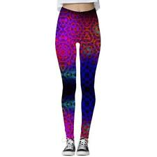 Graphic 3D Printed Women Skinny Stretchy Pencil Pants Yoga Gym Leggings Trousers