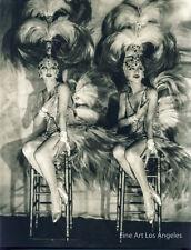 James Abbe Photo, The Dolly Sisters, Casino de Paris, 1927