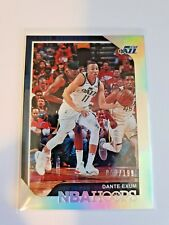 2018-19 NBA Hoops Basketball #140 Dante Exum Silver Parallel Utah Jazz