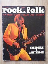 ROCK ET & FOLK - 1971 - Nr 57 - CREEDENCE CLEARWATER REVIVAL JIMI HENDRIX
