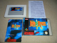 The Lord of the Rings LOTR Super Nintendo SNES Spiel OVP PAL EUR Interplay 1994