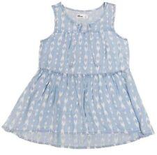 Epic Threads Girl's Size L Light Blue Babydoll Tank Top