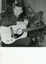 JOHNNY HALLYDAY 60s VINTAGE PHOTO ORIGINAL PHILIPS