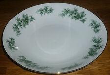 1 Suppenteller 22 cm  Seltmann Weiden  PATRICIA  26427 Grüne Blumen Goldrand