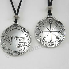 MOON Talisman Seal of Solomon Amulet Pentacle Protection Necklace bin in store!