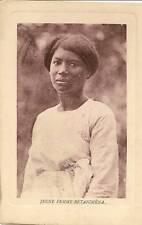 CPA MADAGASCAR ETHNIQUE JEUNE FEMME BETANIMENA