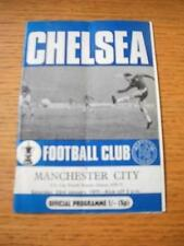 23/01/1971 Chelsea v Manchester City [FA Cup] (Creased, Team Changes). No obviou