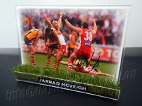 ✺Signed & Framed✺ JARRAD MCVEIGH Photo PROOF Sydney Swans AFL 2012 2020 Jumper