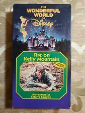 Fire On Kelly Mountain & Adventure In Satan's Canyon VHS Rare Disney