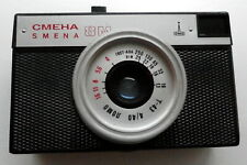 CMEHA SMENA 8m Vintage Camera With Black Leather Case, Russian Made