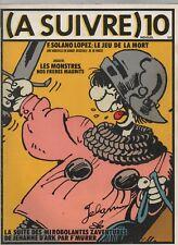 A SUIVRE n° 10 - Novembre 1978.  Couverture F'MURR - Très bel état