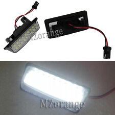 Pair LED License Light Lamps For Nissan Murano Maxima Altima Pathfinder Elgrand