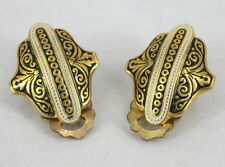 Gold Plated Jewellery Vintage & Antique Earrings