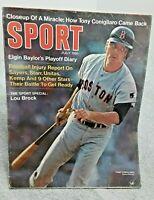 Sport Magazine July 1969 Tony Conigliaro Boston Red Sox Lou Brock Elgin Baylor