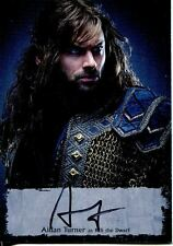 Hobbit Battle Of 5 Armies Poster Autograph Card AT-P Aidan Turner as Kili