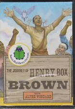 The Journey of Henry Box Brown told by Alfre Woodard NEW SEALED FREE SHIPPING