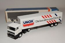 @. LION CAR DAF 3300 TRUCK WITH TRAILER UNOX EXCELLENT BOXED